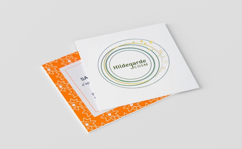 YLOS - Carte de visite de Hildegarde Cosm
